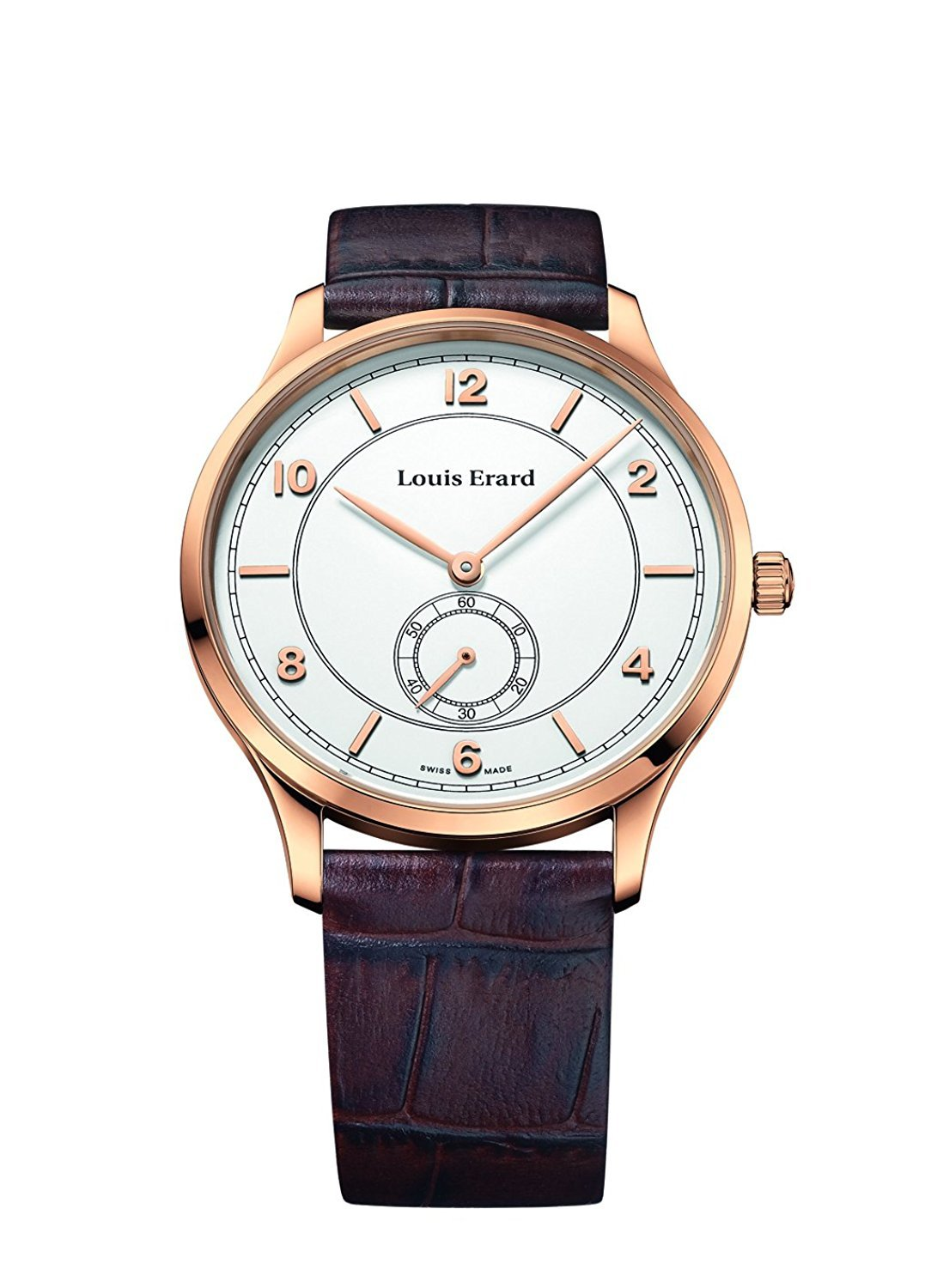 Louis Erard Men's 1931 Collection White Dial Small Second 47217PR51 Watch
