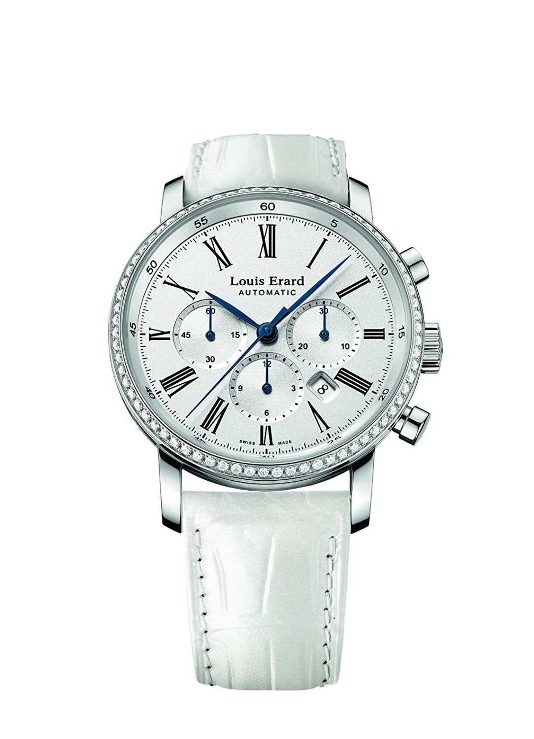 Louis Erard Excellence Collection Swiss Automatic White Dial Women's Watch 84234SE01.BAV12