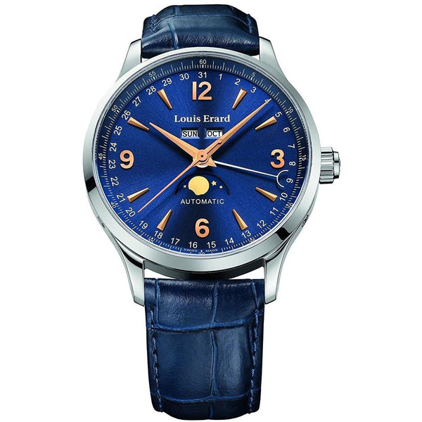 Louis Erard 1931 Collection Swiss Automatic Blue Dial Men's Watch 31218AA15.BDC37