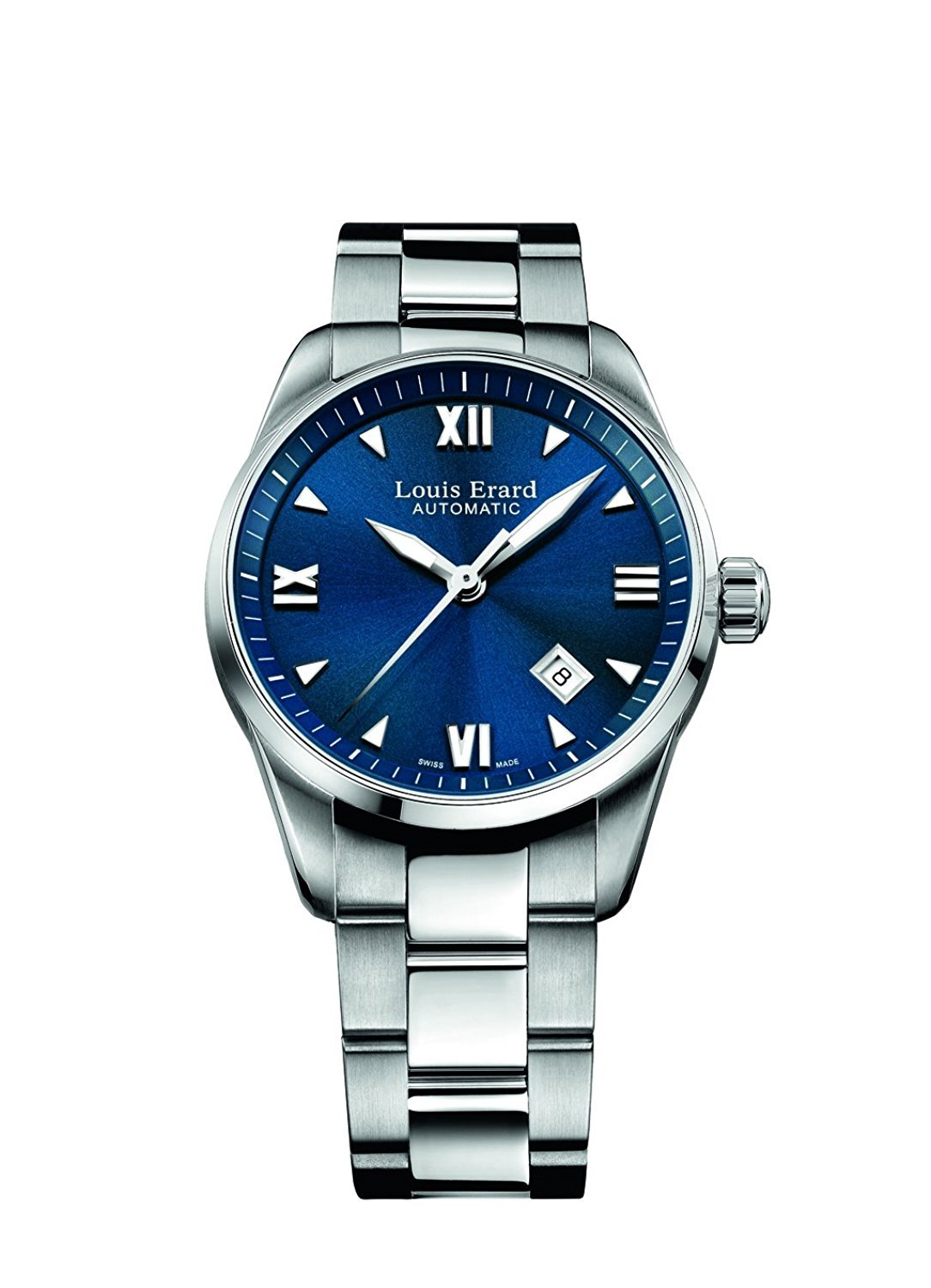Louis Erard Heritage Collection Swiss Automatic Blue Dial Women's Watch