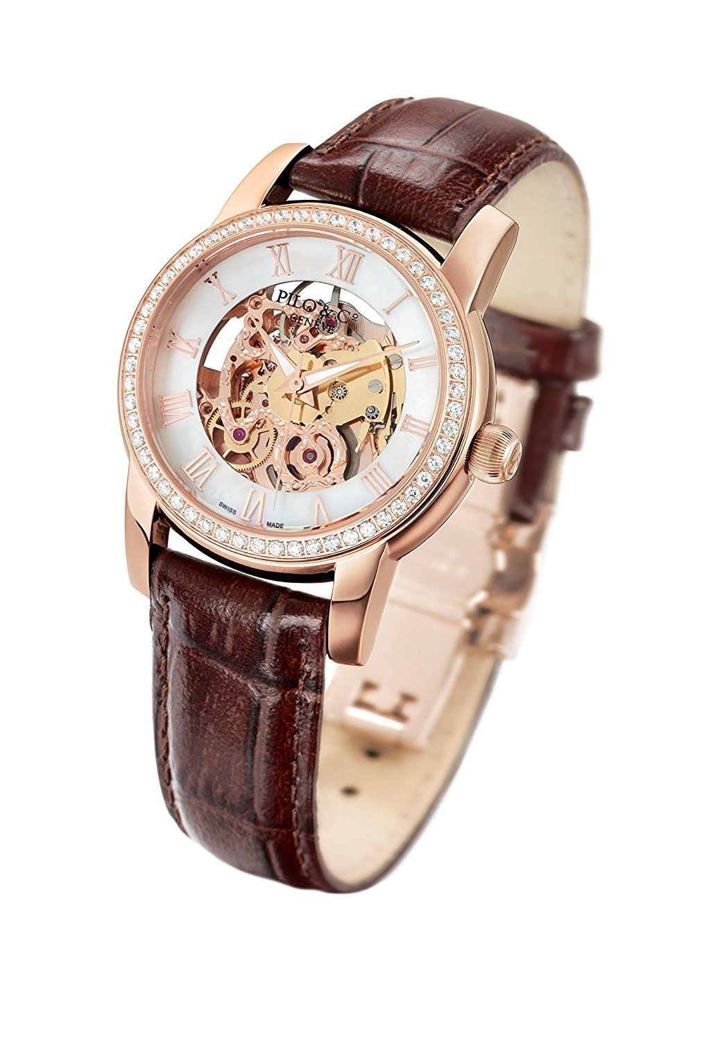 Pilo & Co Swiss Automatic Tempo Women's Watch collection P0529DAGR