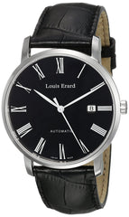 Louis Erard Men's 68233AA02.BDC29 Excellence Analog Display Automatic Self Wind Black Watch