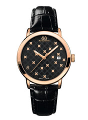 88 Rue du Rhone Swiss Quartz Watch Women 87WA163902 black bracelet