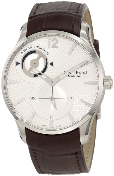 Louis Erard Men's 1931 Collection 53209AS01.BDC27 1931 Brown Power Reserve Leather Watch