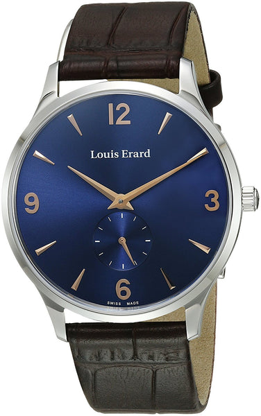 Louis Erard Men's 47217AA15.BEP01 1931 Analog Display Mechanical Hand Wind Brown Watch