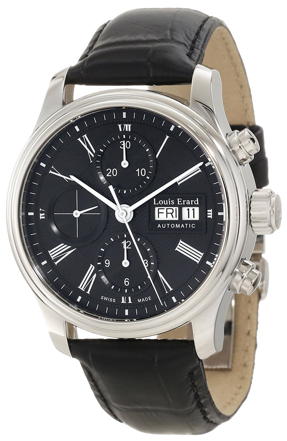 Louis Erard Men's 78259AA22.BDC02 Heritage Chronograph Automatic Watch