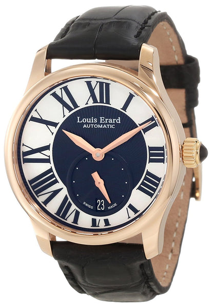 "Louis Erard Women's 92602OR02.BACs6 ""Emotion"" 18k Rose Gold-Plated Swiss Automatic Watch"