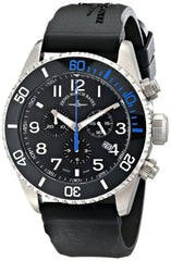 Zeno Men's 6492-5030Q-A1-4 Divers Black Rubber Strap Watch