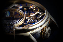 Memorigin Tourbillon Watches Imperial Stellar Gold Bitcoin Astronomia Closeup2