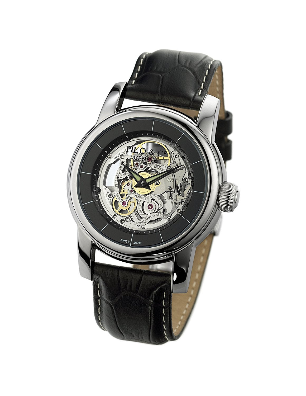 Pilo & Co Swiss Automatic Tempo Men's Watch collection P0521HAS