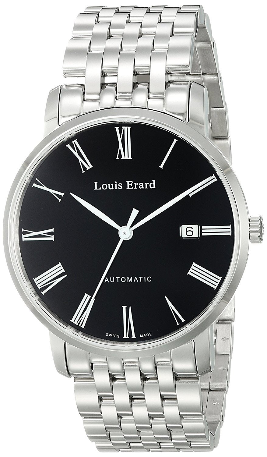 Louis Erard Men's 68233AA02.BMA36 Excellence Analog Display Automatic Self Wind Silver Watch