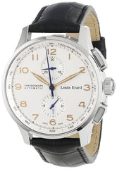 Louis Erard Men's 73228AA01.BDC51 1931 Automatic Black Leather Chronograph Watch