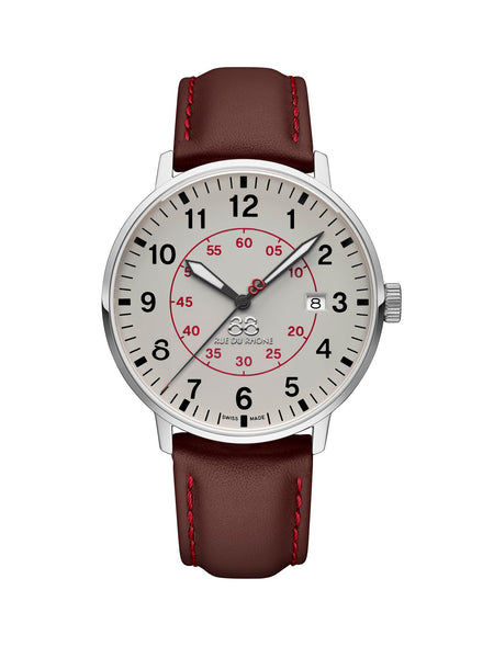 87WA184002  88 Rue du Rhone Mens Swiss Watch Quartz Newold