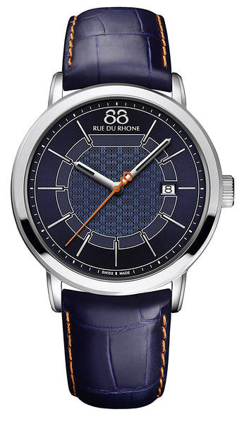 88 RUE DU RHONE Double 8 Origin Swiss Quartz Men's watch collection 87WA174215