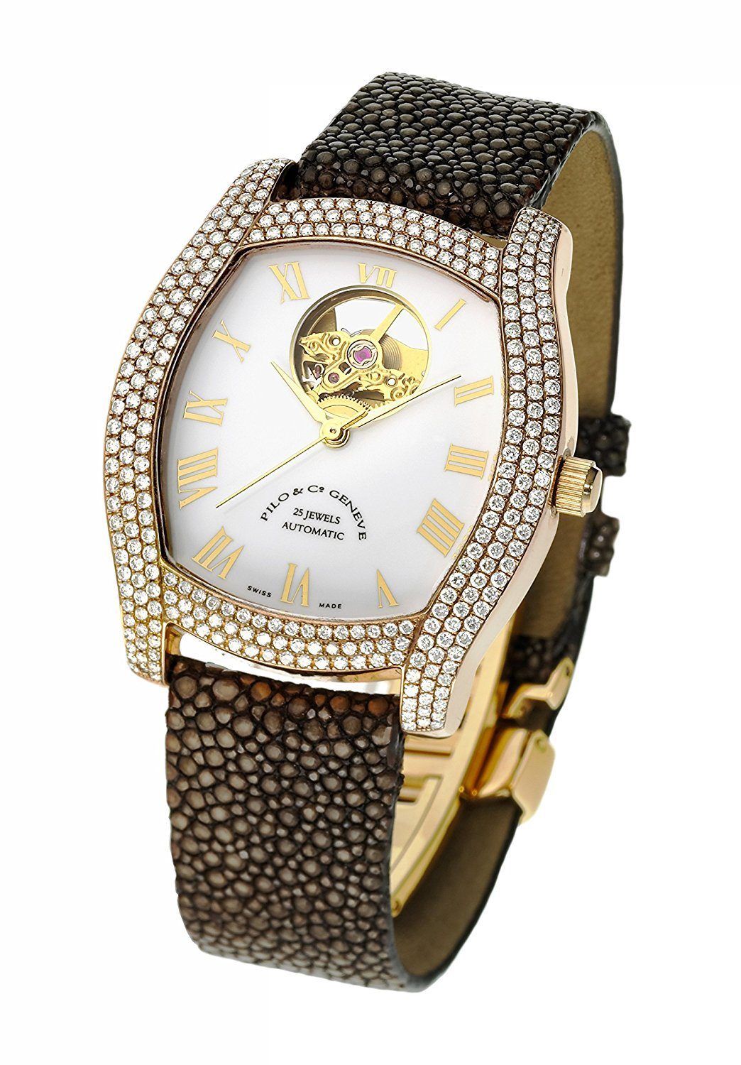 Pilo & Co Swiss Automatic Tempo Women's Watch collection P0502HAGR D