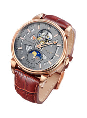 David Van Heim Swiss Mechanical Tourbillon Men's Watch T1 collection VH-303