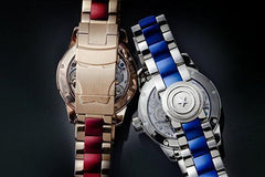 Marvel Avengers Memorigin Tourbillon Watches Iron Man Clasp