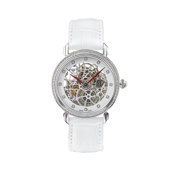 D9013LD Heli Reymond Womens Swiss Watch Automatic Skeleton Divine Gucci Longines