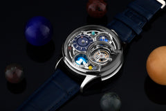 Memorigin Tourbillon Watch Solar Series Breguet Diagonal