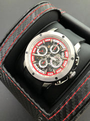 Winch Heli Reymond Swiss Automatic Chronograph Tachymeter  Men's watch Black