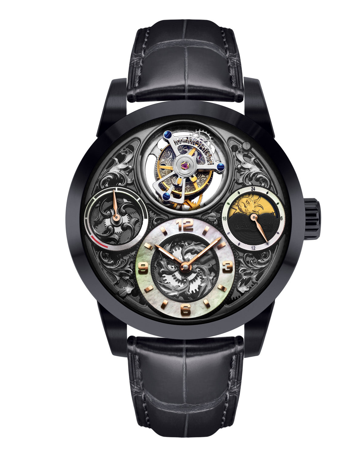 Memorigin Tourbillon Watches Imperial Black img01 Bitcoin
