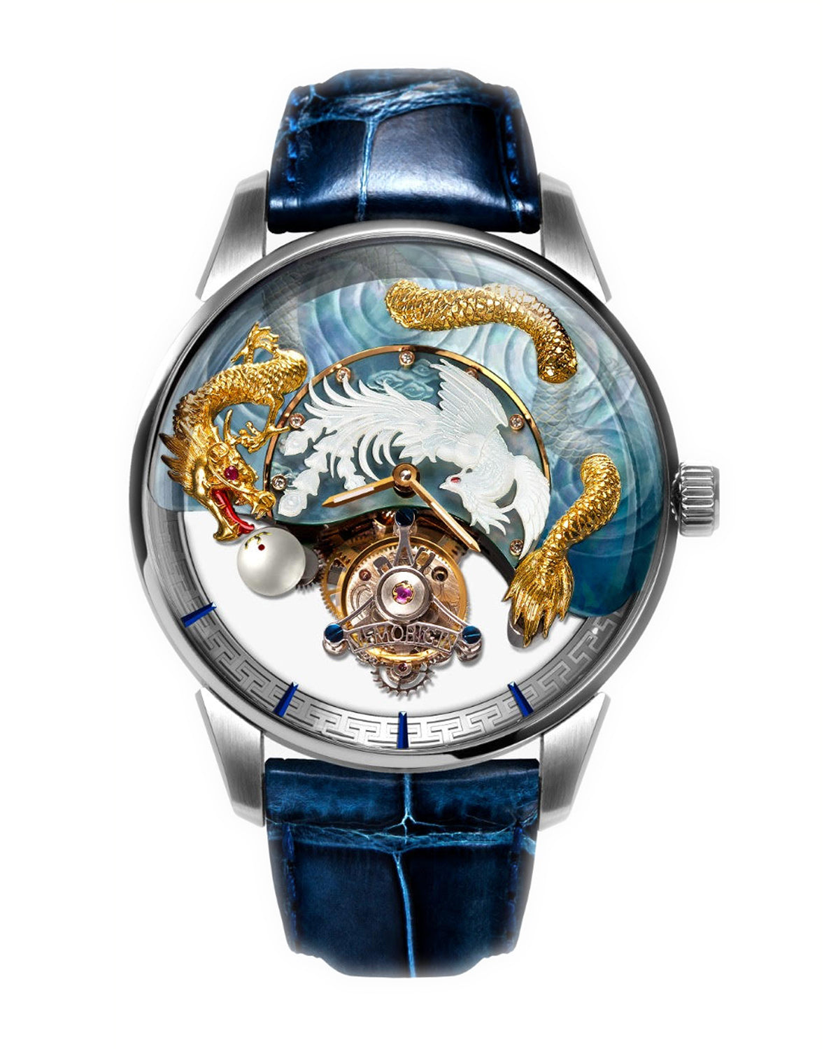 Memorigin Flying Tourbillon Harmony Dragons and Phoenix  Watch Main Picture
