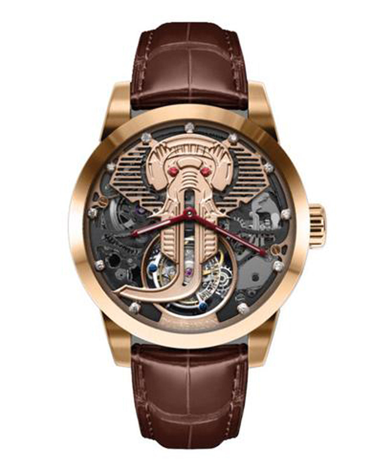 Jackson Memorigin Tourbillon Watch front view