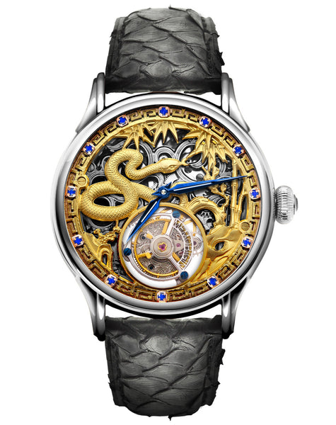 Zodiac Snake Memorigin Tourbillon Watch front