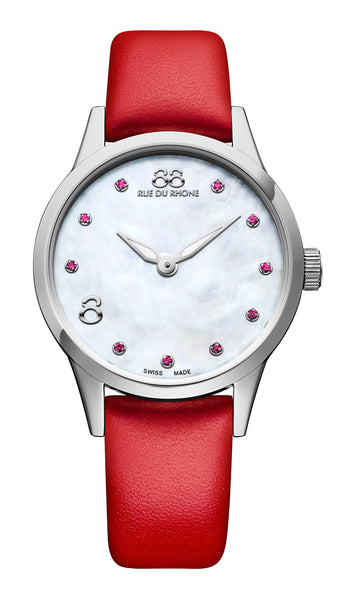 87WA183206 88 Rue du Rhone Womens Swiss Watch Quartz Rive