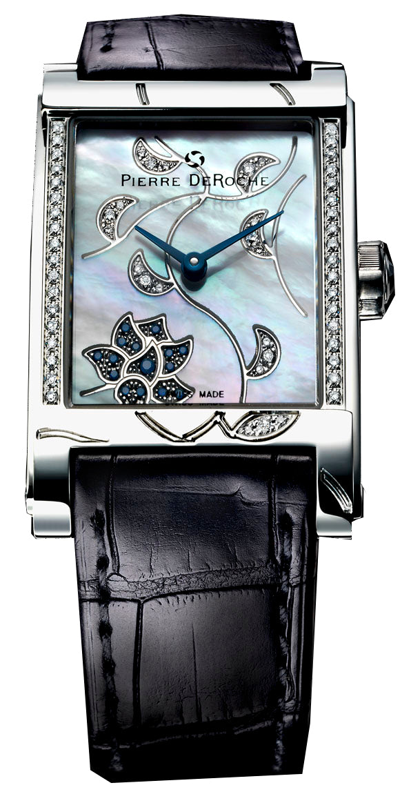 Pierre De Roche Shiny Pebbles Saphira Watch