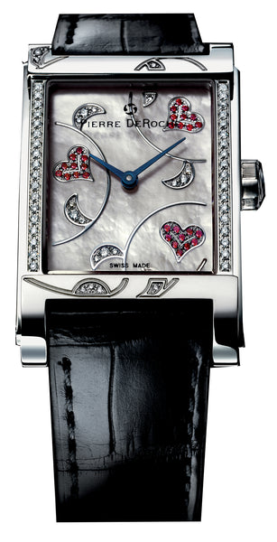 Pierre De Roche Shiny Pebbles Valentine Watch