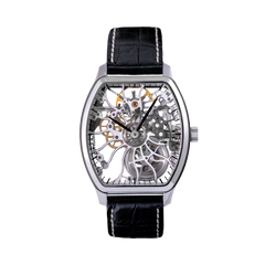 T3010 Heli Reymond Mens Swiss Watch Mechanical Skeleton Transparency
