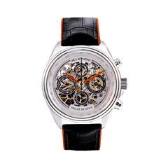 T4014 Heli Reymond Mens Swiss Watch Automatic Skeleton Transparency