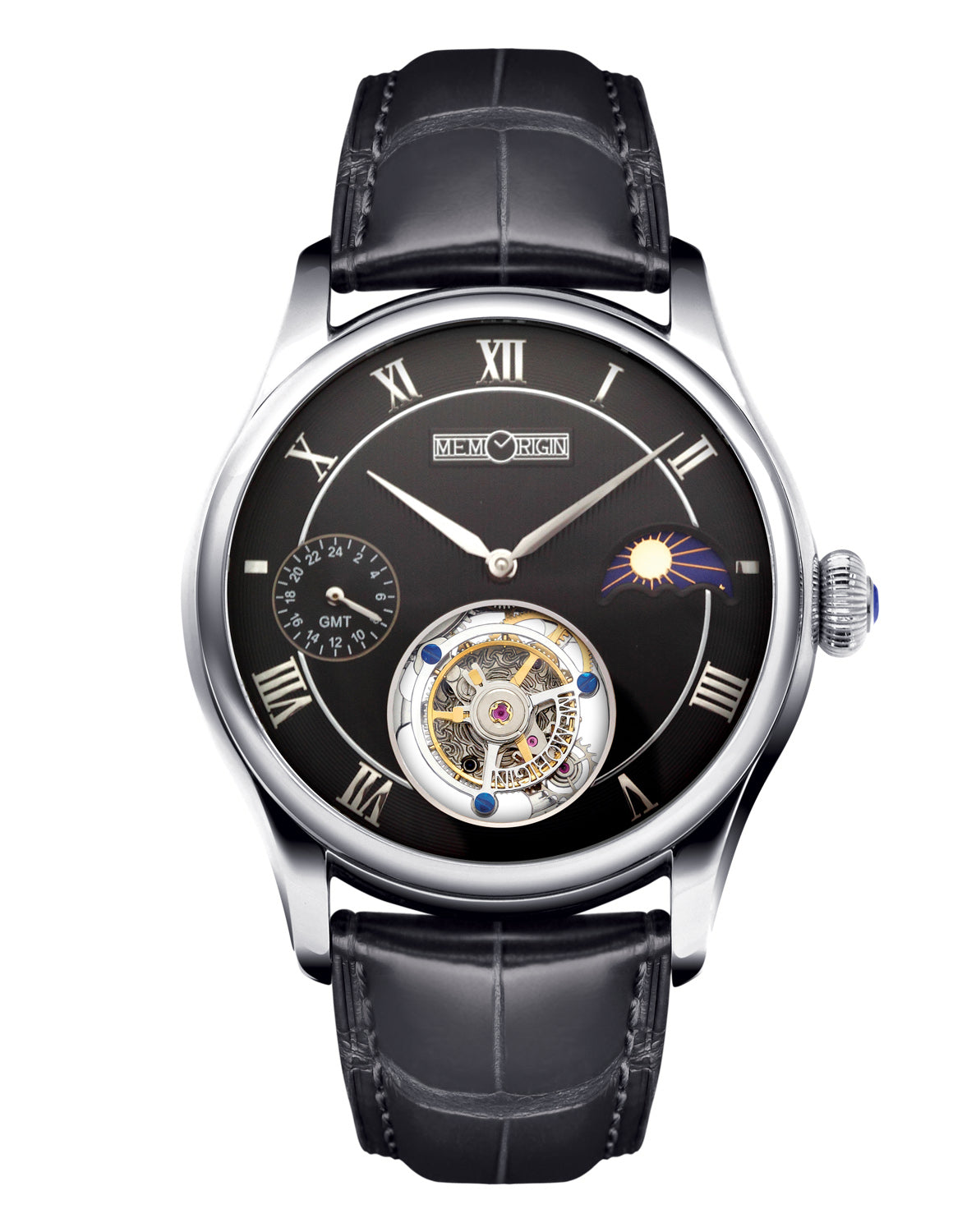 Memorigin Travelers Series Tourbillon Watch Black