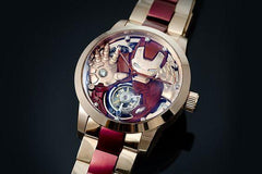 Marvel Avengers Memorigin Tourbillon Watches Iron Man inclined2