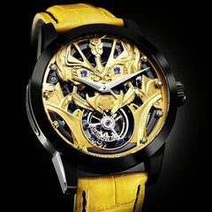 Marvel Transformers Bumblebee 1st version Memorigin Tourbillon Watches Disney macro