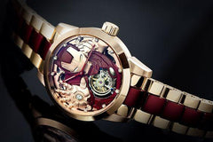 Marvel Avengers Memorigin Tourbillon Watches Iron Man inclined