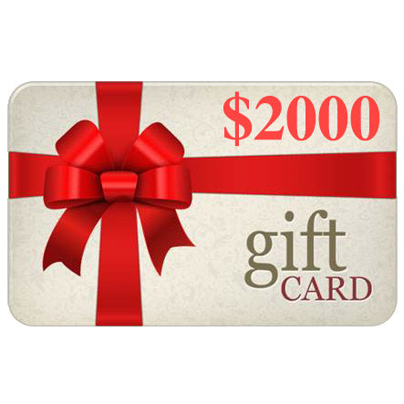 Gift Card - $2000