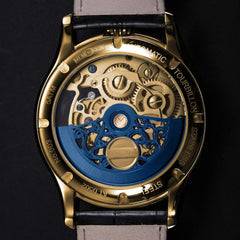 Memorigin Tourbillon Watches Imperial Stellar Gold Bitcoin Astronomia Back