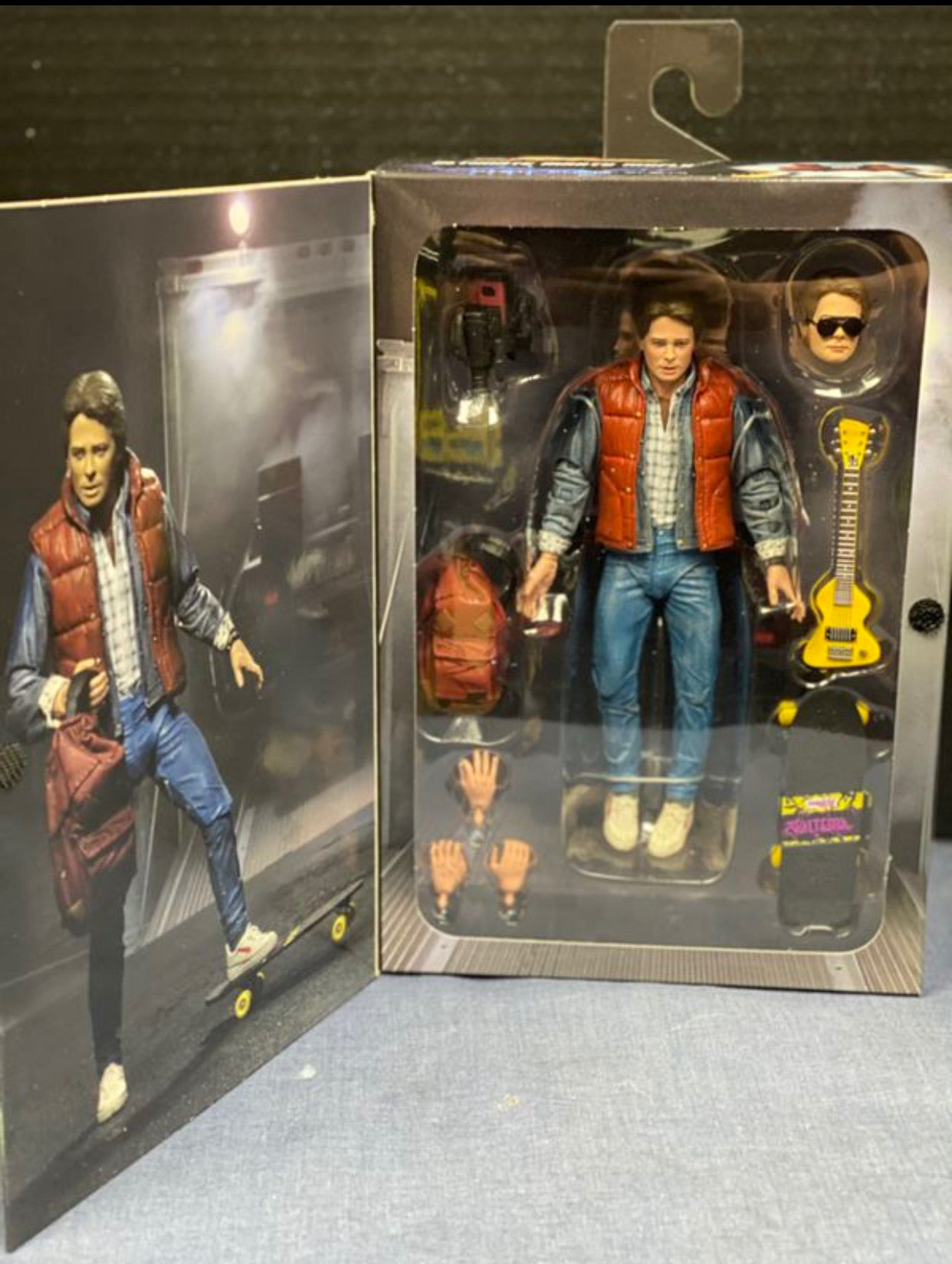 Back to the future Marty Mcfly Neca 2 figures Brand New