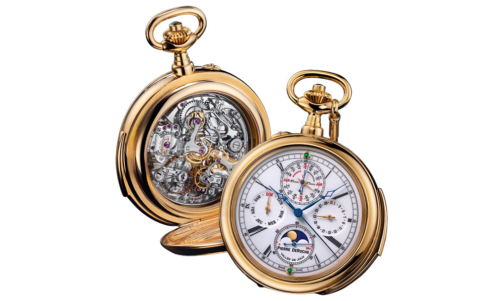 Pierre De Roche Reynold Pocket Watch Lecoultre Pocketwatch