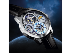 Memorigin Tourbillon Watches Imperial Silver Bitcoin