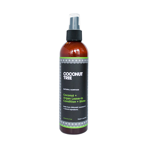 COCONUT + ARGAN LEAVE-IN CONDITION + SHINE