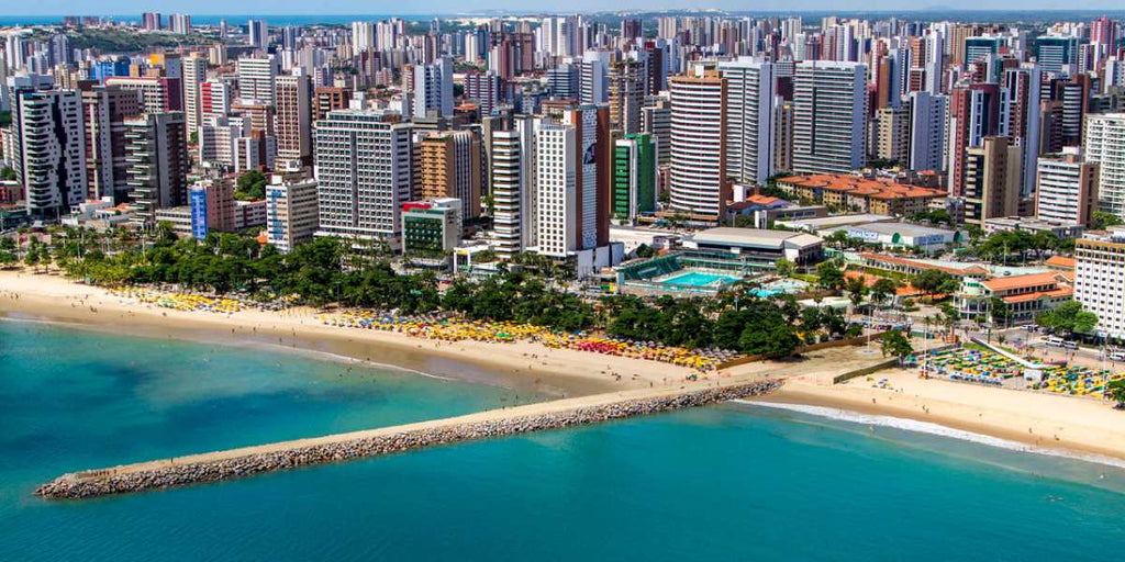 A day in Fortaleza, Brazil