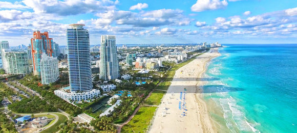 South Beach from Miami or Fort Lauderdale International Airports