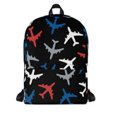 Big Planes Backpack (Red/Blue)