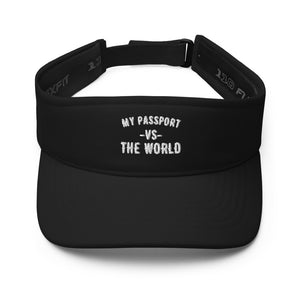 My Passport Vs. The World Visor