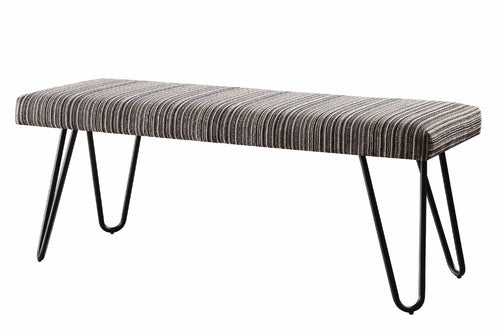 Contemporary Modern Velvet Bench