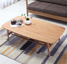 Solid Oak Wood Rectangle Dining Table