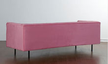 Pink Velvel Chesterfield Sofa